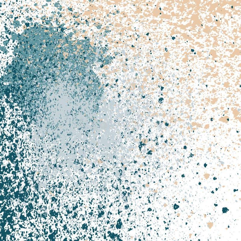 Splatter farba połysku neonową dekorację akrylową, pyłu przepływ, ilustracja wektor