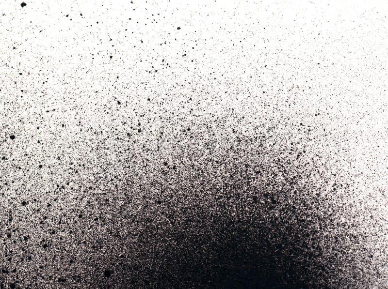 Splatter farby tło obrazy stock