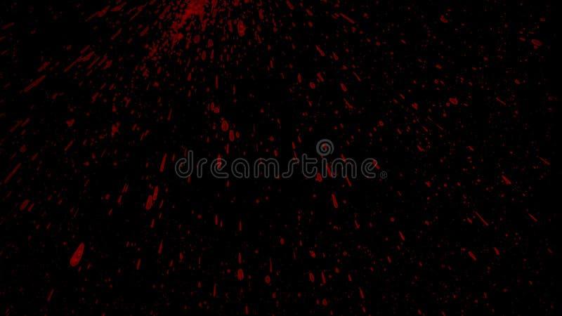 Splattered элемент крови стоковые изображения