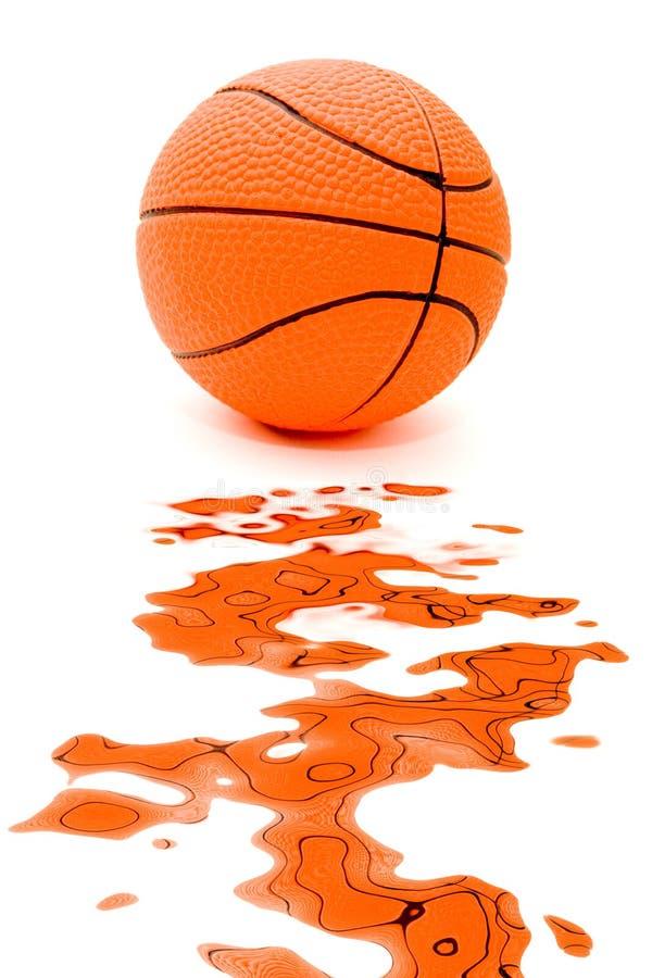 Splattered ball stock images