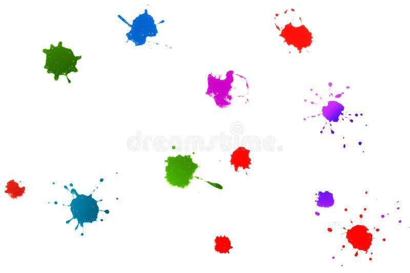 splatters ilustracji
