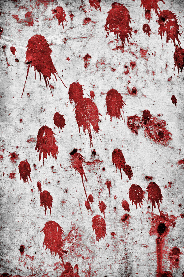 Splatters do sangue imagem de stock