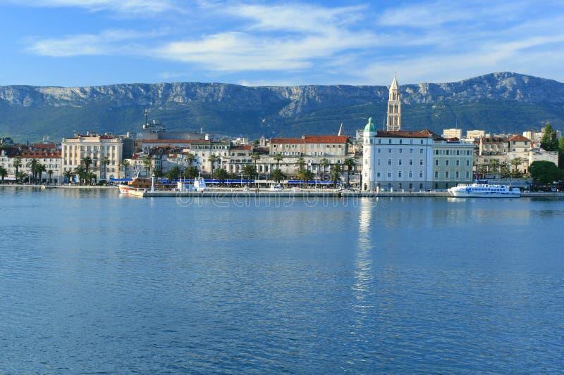 Spleet, Kroatië stock afbeelding
