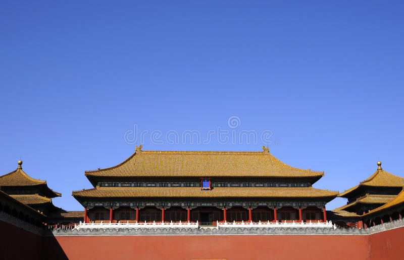 Download Splendid Building Of Chinese Royal Palace Stock Photo - Image: 10497936
