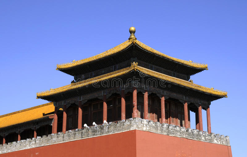 Download Splendid Building Of Forbidden City Stock Image - Image: 10497967