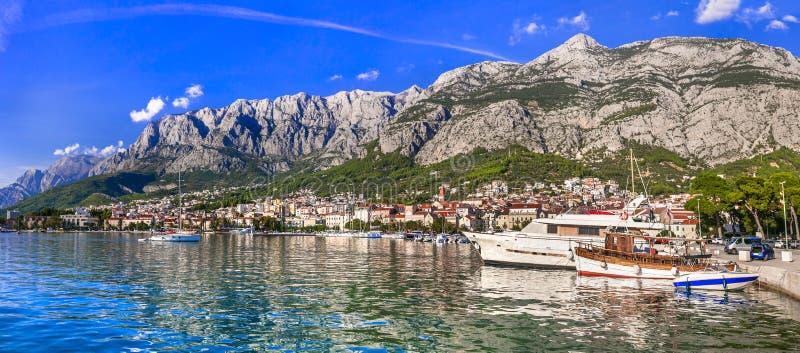 Makarska riviera - Dalmatia. Croatia travel royalty free stock photo