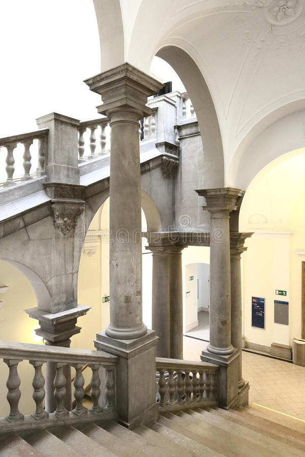 Download Splendid Stairway stock photo. Image of arched, classical - 30499112