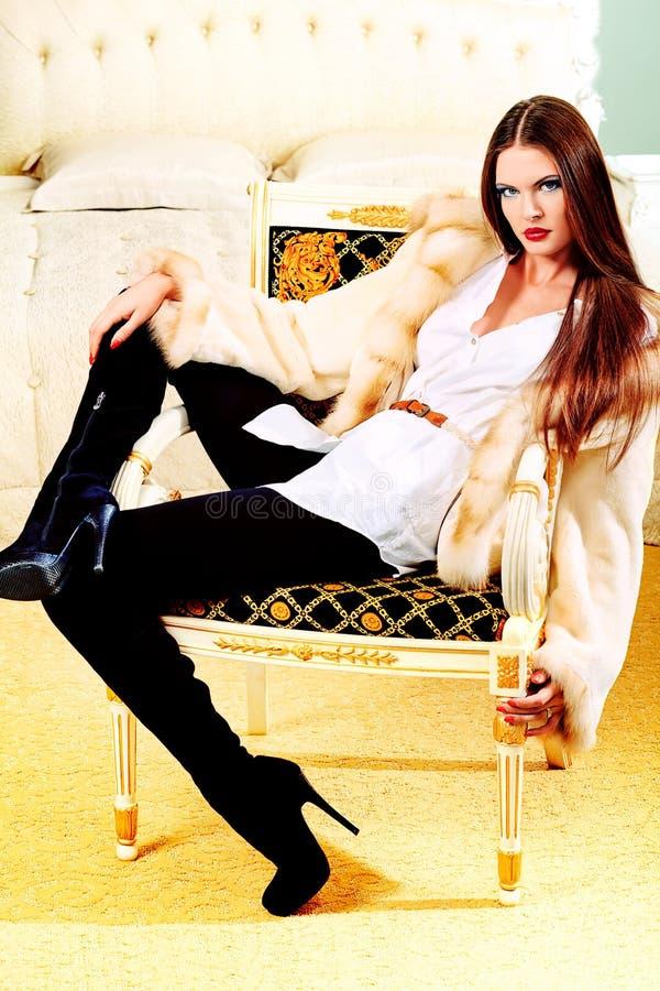Splendor dama obraz royalty free
