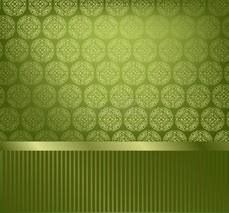splendor dekoracyjna tapeta royalty ilustracja