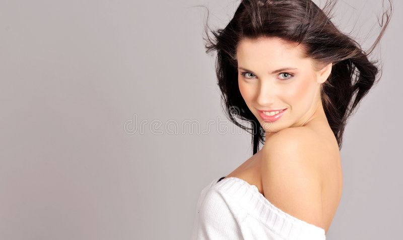 splendoru fryzury kobieta zdjęcia royalty free