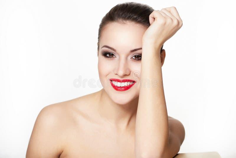 splendoru warg wzorcowi czerwoni uśmiechnięci kobiety potomstwa zdjęcie royalty free