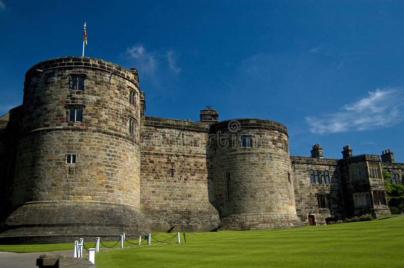 The splendour of the castle stock photo