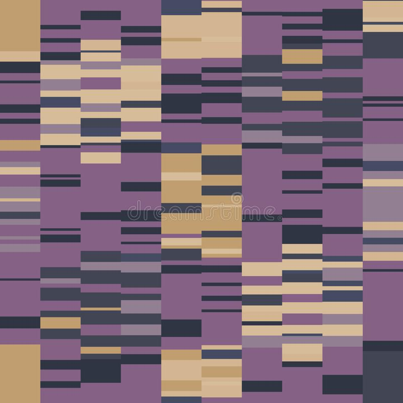 Free Spliced Stripe Geometric Variegated Background. Seamless Pattern With Woven Dye Broken Stripe. Bright Gradient Textile Stock Photo - 162689820