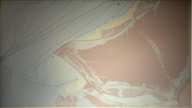 Split broken LCD screen display background texture. Split broken LCD screen display background royalty free stock photos