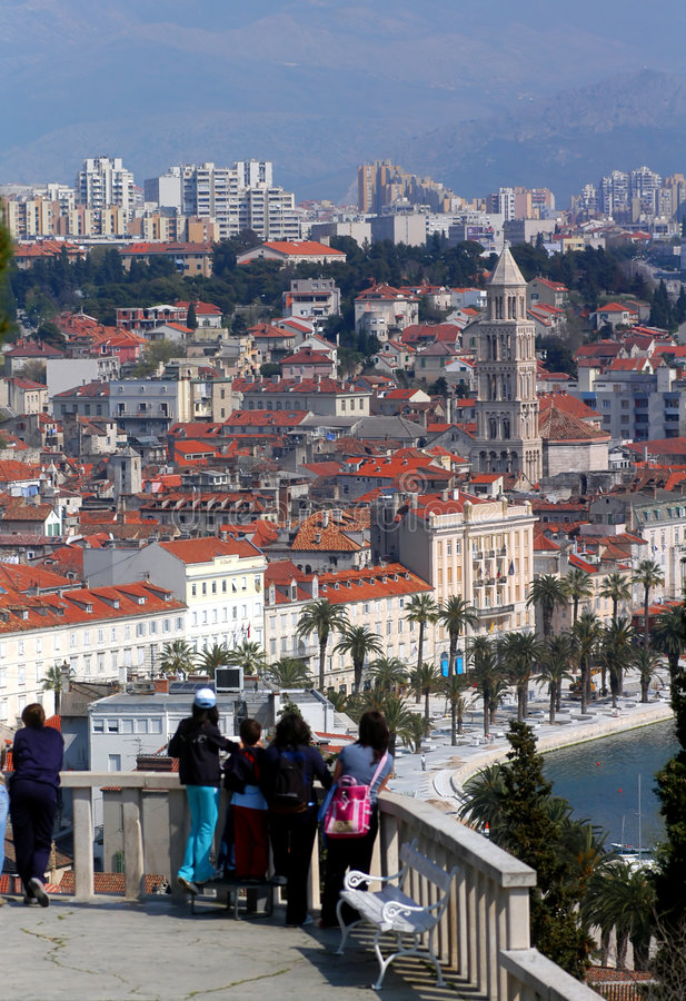 Split;Croatia royalty free stock images