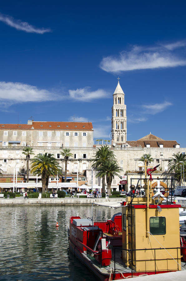 Download Split, Croatia editorial stock image. Image of dioclecian - 28350399
