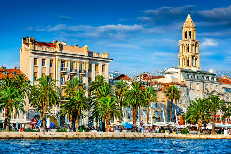 Split, Croatia - Diocletian Palace stock image