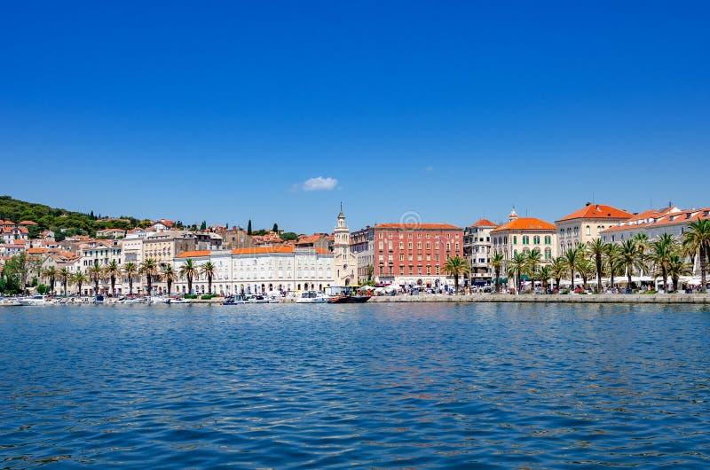 Diocletian`s Palace. Split, Croatia. stock photos
