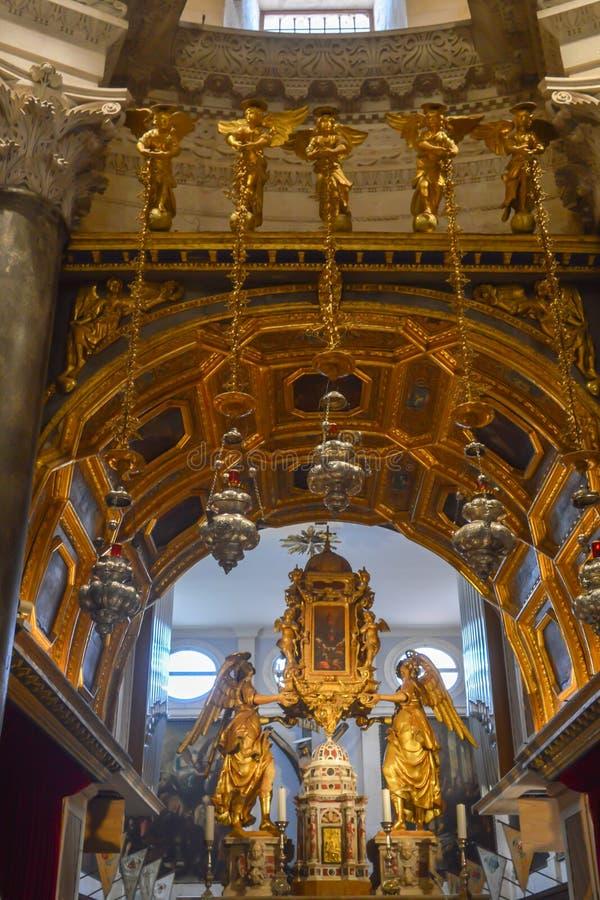 Saint Roch Roka Church in Split. SPLIT, CROATIA - JUNE 15: Saint Roch Roka Church near Diocletian`s palace in Split on June 15, 2019 royalty free stock images