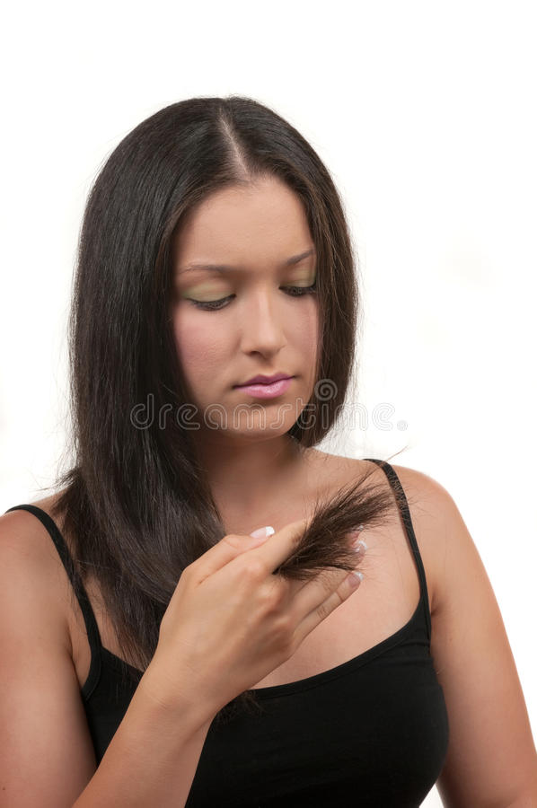 Download Split Ends stock image. Image of bodycare, young, split - 22315555