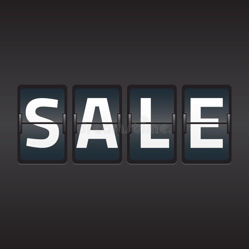 Split flap sale vector illustration vector illustration