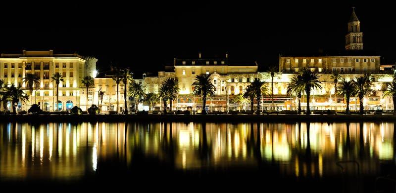 Download Split night stock photo. Image of light, town, harbor - 23553646