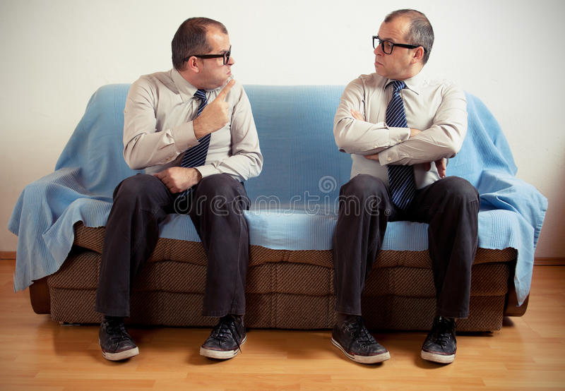 Download Split personality stock image. Image of conflict, employee - 31135013