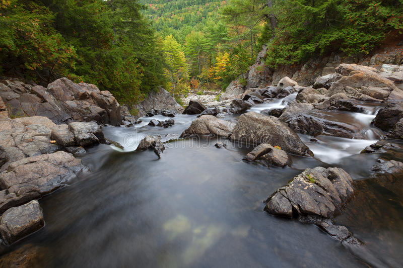 Split Rock Falls In Autumn royalty free stock image