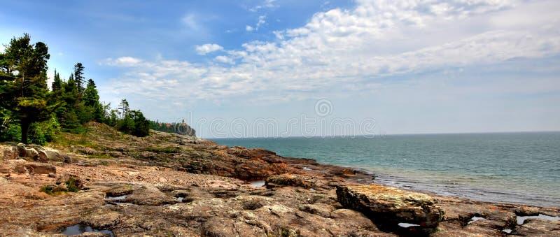 Split Rock Lighthouse royalty free stock images