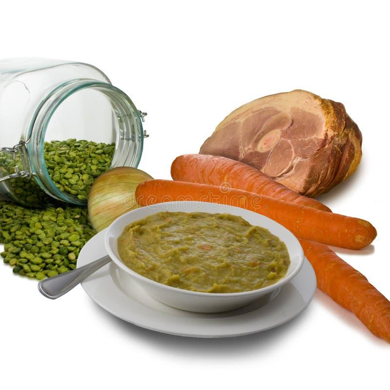 Free Split Soup Royalty Free Stock Photo - 11028785