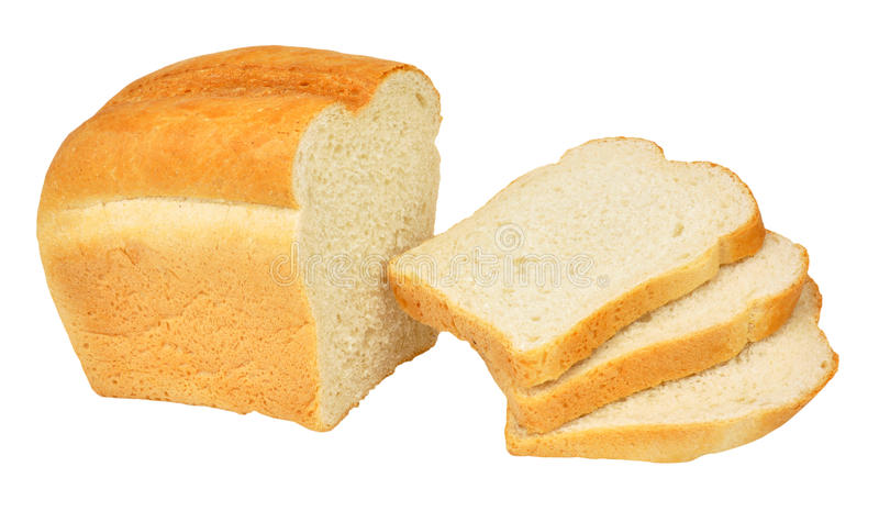 Split Tin Bread Loaf stock image