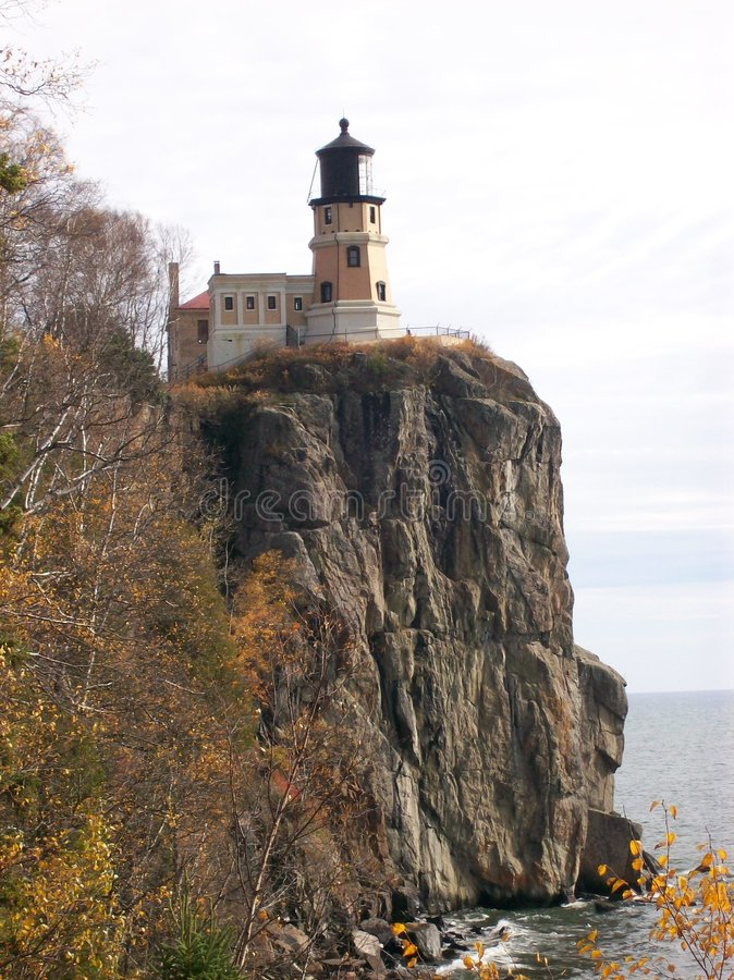splitrock маяка стоковая фотография