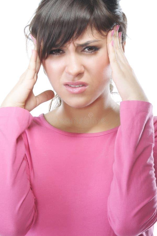 Splitting Headache Royalty Free Stock Photos