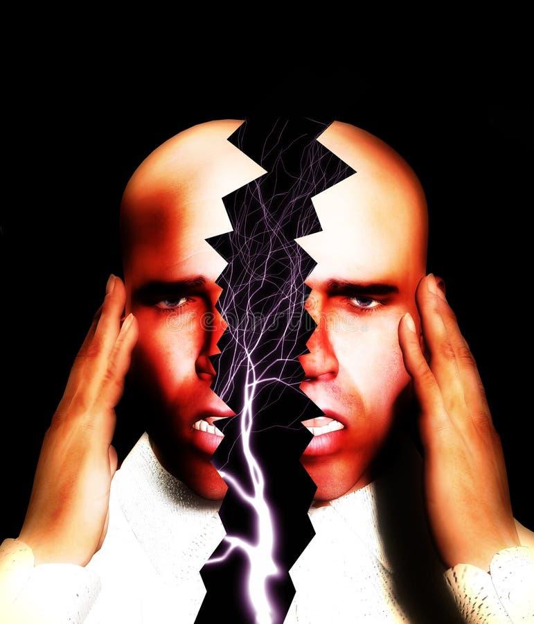 Download Splitting Headache 4 stock illustration. Image of lighting - 2106892