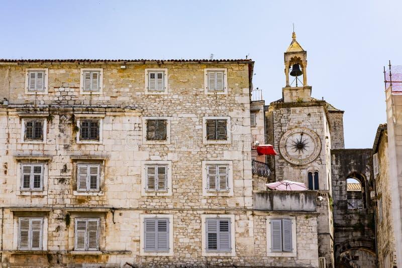 Splittring Dalmatia, Kroatien royaltyfri bild