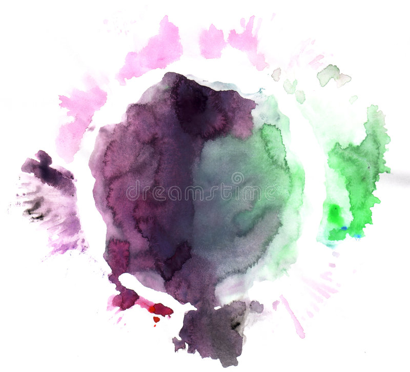 splodge διανυσματική απεικόνιση