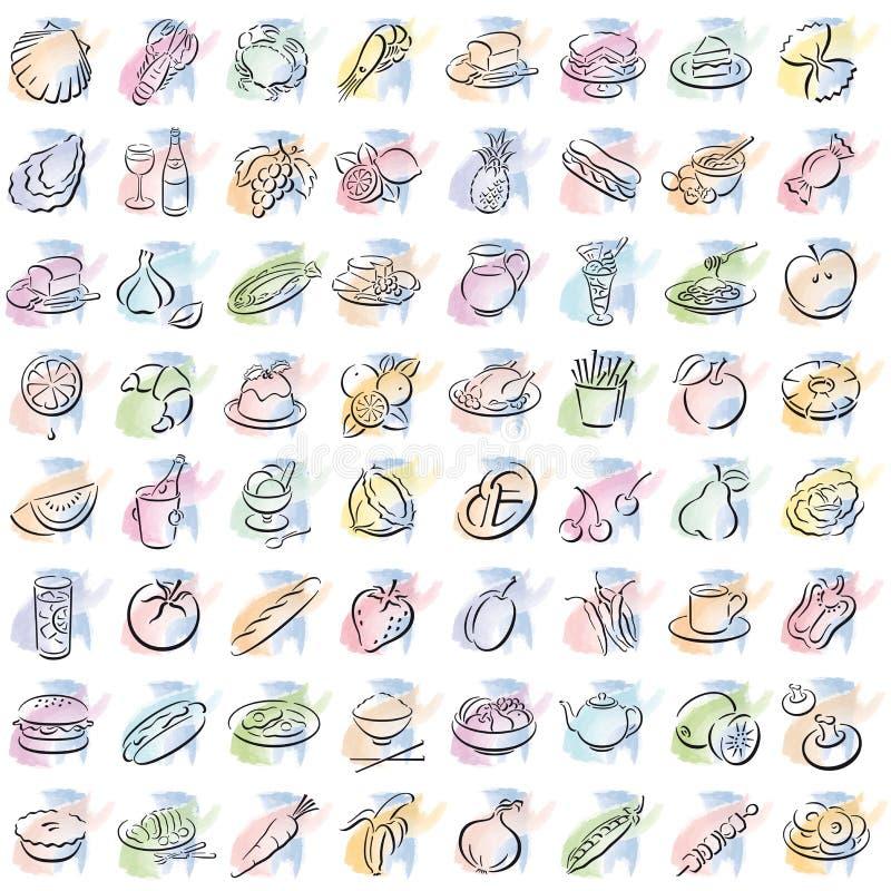 splotches еды стоковое фото rf