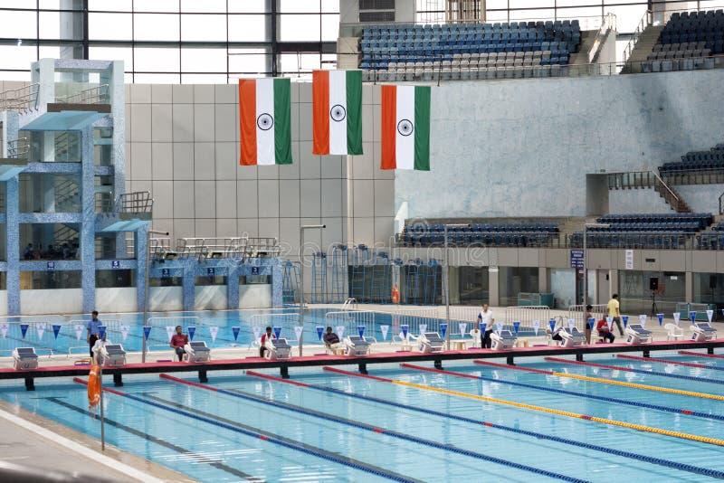 Spm Swimming Pool In New Delhi India Editorial Photo