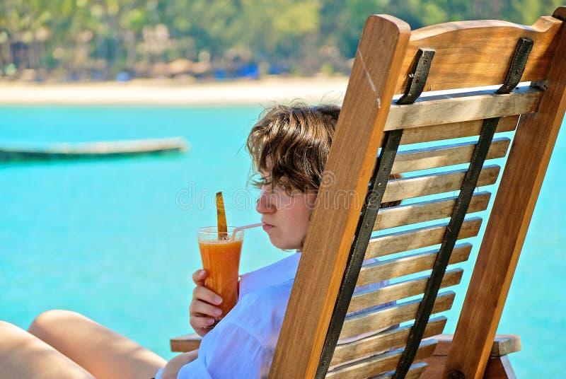 spoczynkowy nastolatek zdjęcie royalty free