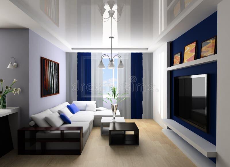spoczynkowy pokój fotografia royalty free