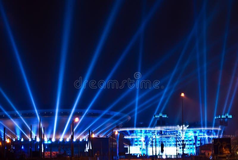 Spodek - спорт и культурная арена в Катовице, Польша стоковое фото rf