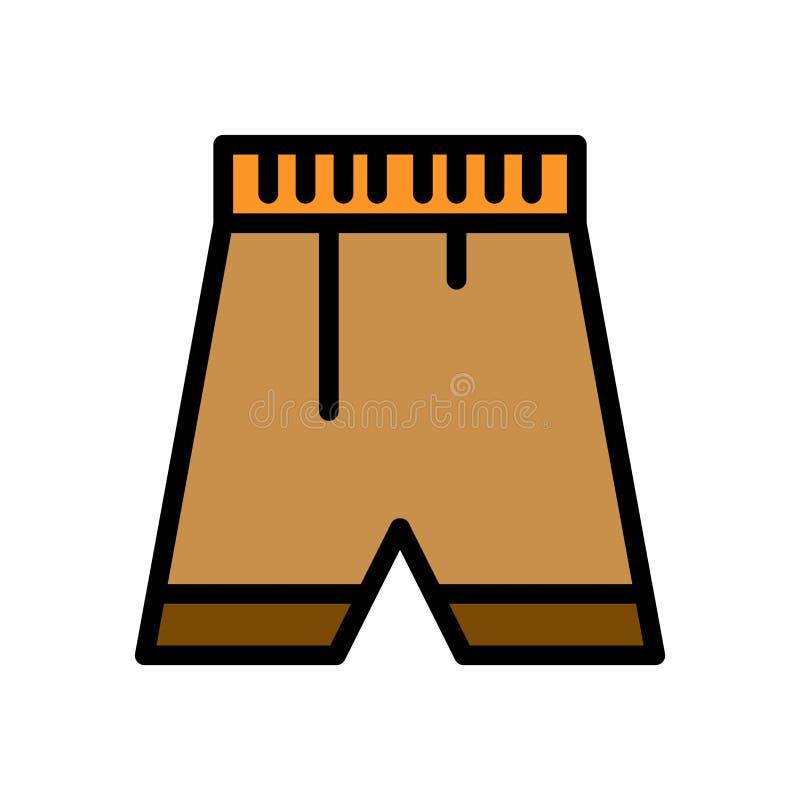 Spodnia swimsuit lata logo wektorowa ikona lub ilustracja Editable kolor i uderzenie Doskonali? u?ywa dla wzoru i projekta grafik ilustracji