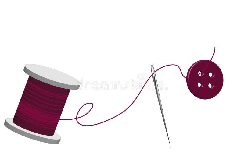 Spoel van draad vector illustratie