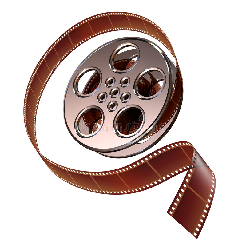 Spoel van film vector illustratie