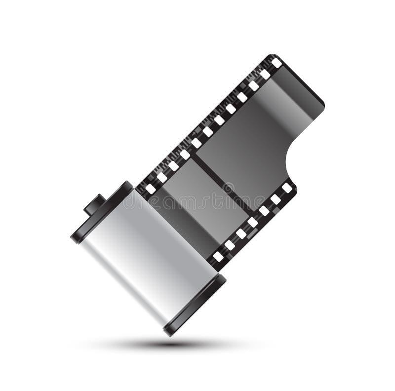 Spoel van film royalty-vrije illustratie