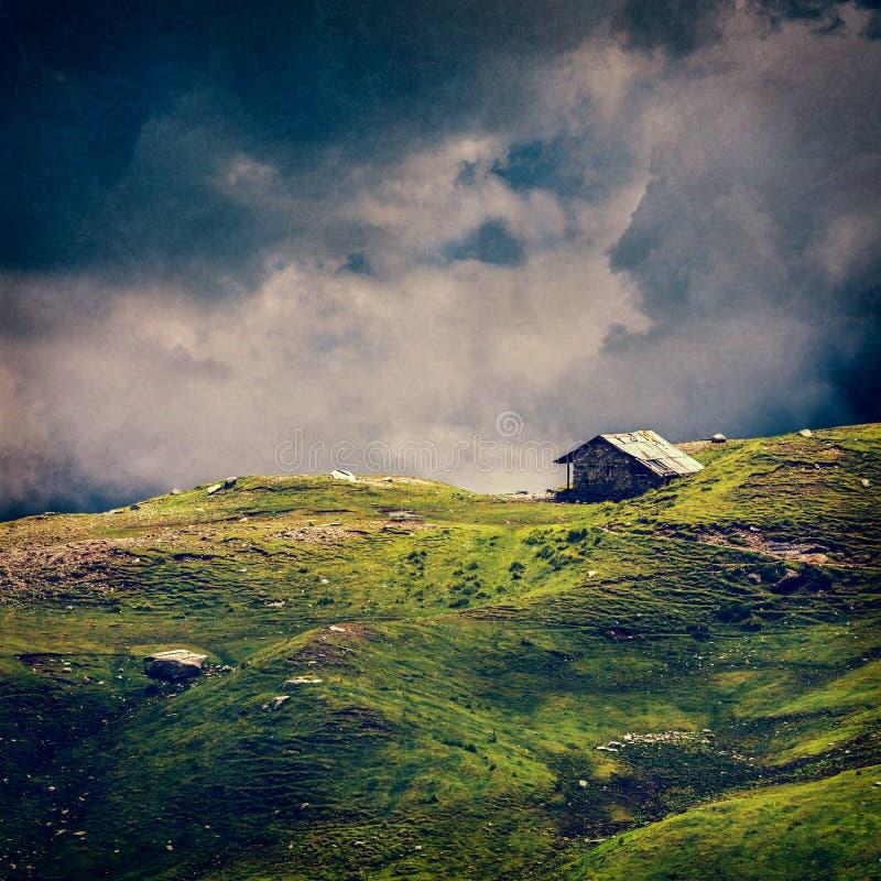 Spokój scenerii tła spokojny osamotniony pojęcie fotografia royalty free