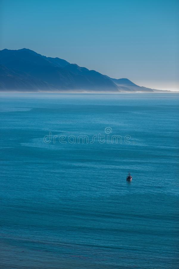 Spokój uspokajać morze fotografia royalty free