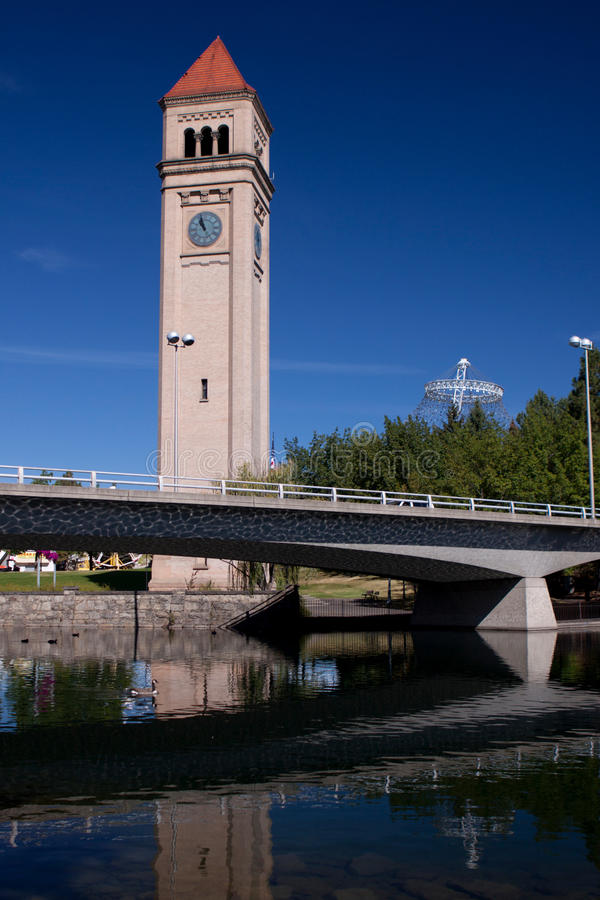 Spokane, Washington stock foto