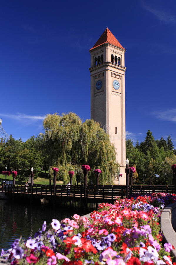 Spokane, Washington royalty free stock image