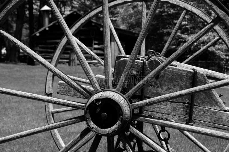 Download Spoke In Time B&W stock image. Image of wheel, explore, travel - 25567